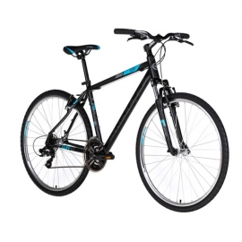 Krosový bicykel Kellys Cliff 10 black/blue 2018