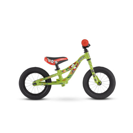 Odrážatko Ghost Powerkiddy 12 Green 2021