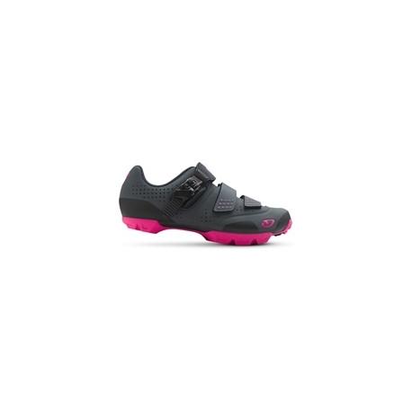 GIRO Manta R Dark Shadow/Bright Pink 38