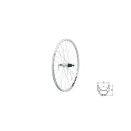 """zapletené koleso DRAFT R, 26"""", SILVER"""