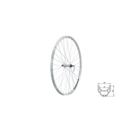 "zapletené koleso DRAFT F, 28/29"", SILVER"