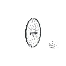 """zapletené koleso DRAFT R, 28/29"""", BLACK"""
