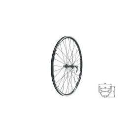"""zapletené koleso DRAFT F, 28/29"""", BLACK"""